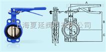 台湾荣牌铸铁蝶阀