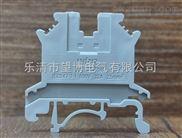 贵阳PA66上等尼龙材质UK2.5B接线端子,耐高温,耐腐蚀接地端子