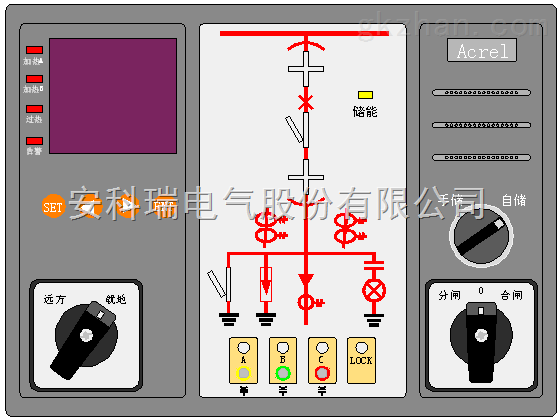 安科瑞电气 ASD200 智能开关柜综合测控装置