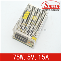 Smun/西盟单组输出75w5v开关电源