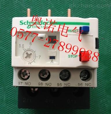 施耐德lrd12c 热过载继电器