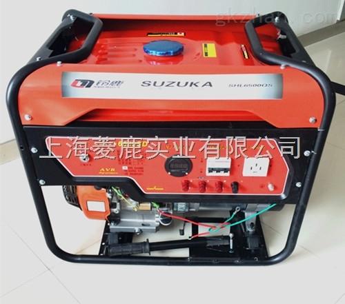 三相电启动汽油发电机的使用