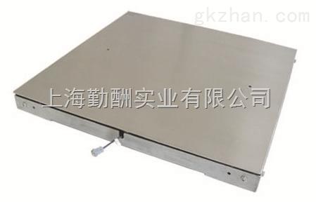 二吨电子地磅/SCS-2T/500G不锈钢地磅秤上海直发