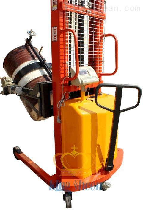 手动倒桶秤-300公斤称圆桶电子秤价格及数字参数