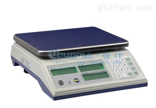 亚津30公斤电子上海计数秤