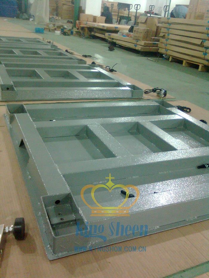 上海5T高精度碳钢电子地磅