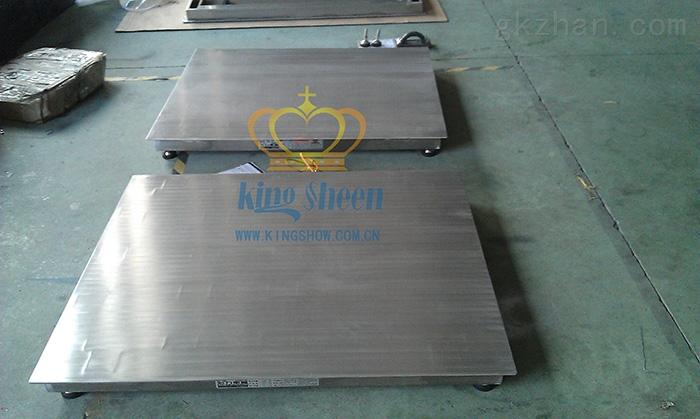 广州2T单层不锈钢电子磅秤