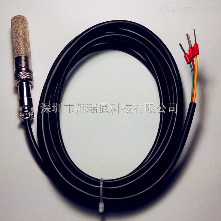 摘要:土壤温湿度传感器探头采用原装进口温湿度传感