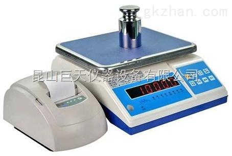 杭州3公斤标签打印电子桌称,6kg带打印功能电子秤价格