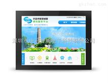 15寸嵌入式工业红外电阻触控显示器电容触摸屏液晶智能显示器4:3正屏