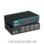 moxaUSB转RS-232/422/485串口集线器工业级