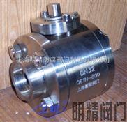 不锈钢高压圆体焊接球阀