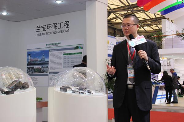 2014工博会工控中国专访上海兰宝销售经理王坚