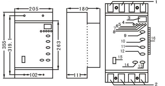 电气闭锁原理接线图