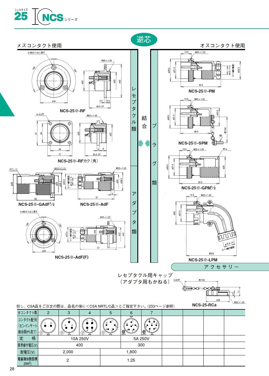 七星连接器|nanaboshi航空插头|七星接头|七星插座