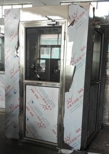 大连瑞光集团成功采购我司不锈钢风淋室