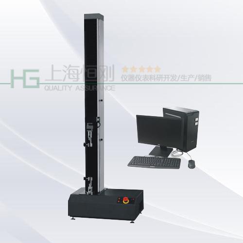 微机控制单柱拉力试验机