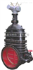 Z945T-10C-DN600/电动暗杆楔式闸阀/Z945T-6C